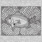 Aarl - fish / Back in black by sekodesigns