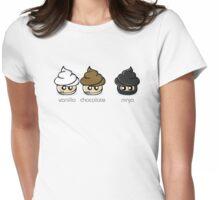 Cupcake Ninja Womens Fitted T-Shirt