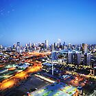 Melbourne Night Scape by Alvin Wong