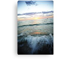 Waves Of Terror Canvas Print