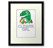Clever Girl Framed Print