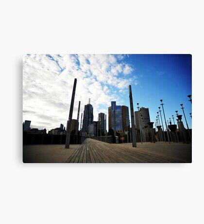 Melbourne Skyline Canvas Print