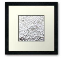 Beads Framed Print