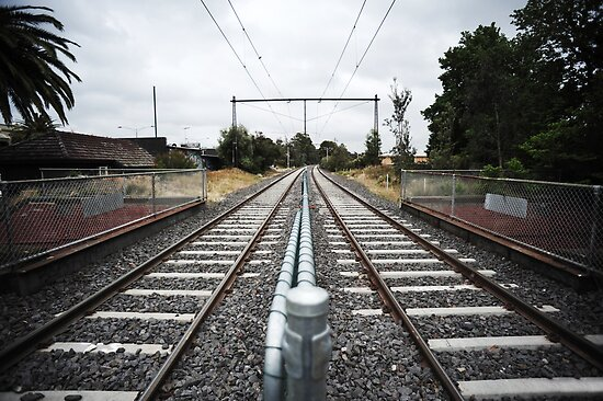 Train Tracks by Alvin Wong