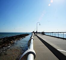 St Kilda Pier by Alvin Wong