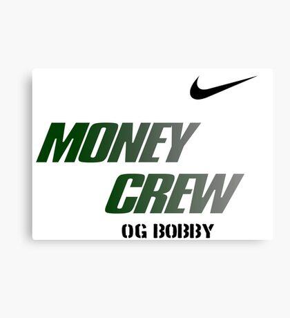 OG BOBBY Canvas Print
