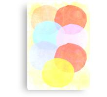 Circle Story Canvas Print