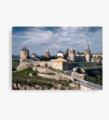 Kamenets Podolskiy castle Canvas Print