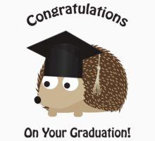 Congratulations on Your Graduation Hedgehog One Piece - Short Sleeve