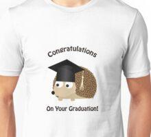 Congratulations on Your Graduation Hedgehog Unisex T-Shirt