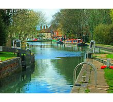 The Kennet and Avon Canal - Newbury  Photographic Print