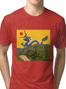 Great Wall Dragon 2 Tri-blend T-Shirt
