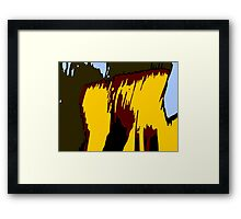 Mountain Composition Framed Print