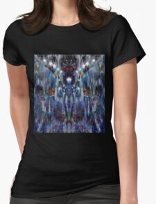 Trip-O-Vision Online Gallery Design 16: Electric Forces Womens Fitted T-Shirt