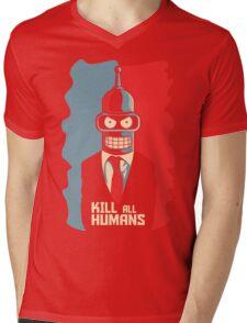 The Machine Mens V-Neck T-Shirt