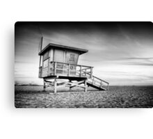 Santa Monica Sunset #5  Canvas Print