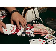 Poker Photographic Print