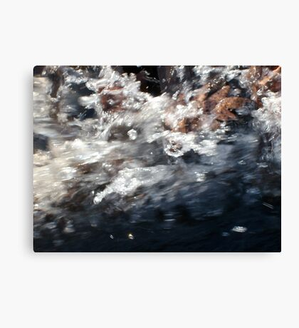 finding breathing room 3 Canvas Print