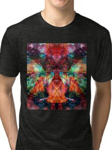 Trip-O-Vision Online Gallery Design 17: Butterfly Kisses Tri-blend T-Shirt