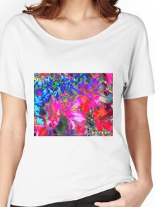 Color Splash Women's Relaxed Fit T-Shirt