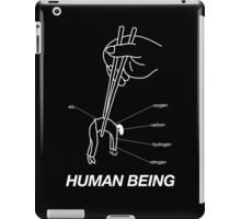 """""""HUMAN BEING COMPOSITION"""" DESIGN iPad Case/Skin"""
