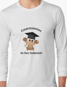 Congratulations on your Graduation Monkey Long Sleeve T-Shirt