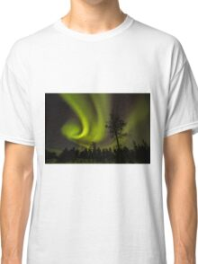 Northern light in Finland Classic T-Shirt