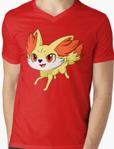 Pokemon Fennekin Mens V-Neck T-Shirt