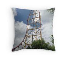 Top Thrill Dragster - Cedar Point Throw Pillow