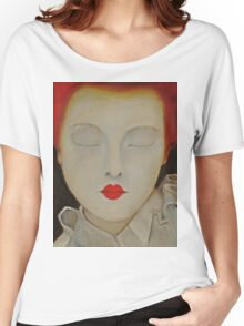 Elizabeth - Original Oil Painting Women's Relaxed Fit T-Shirt