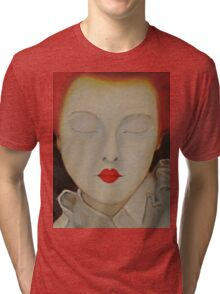 Elizabeth - Original Oil Painting Tri-blend T-Shirt