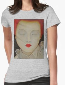 Elizabeth - Original Oil Painting Womens Fitted T-Shirt