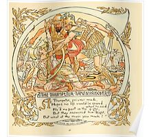 The Baby's Own Aesop by Walter Crane 1908-45 The Trumpeter Taken Prisoner Poster
