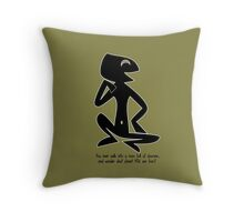 You ever wonder what planet YOU are from? Throw Pillow