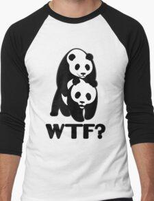 WWF WTF Panda Men's Baseball ¾ T-Shirt