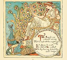 The Baby's Own Aesop by Walter Crane 1908-37 The Peacock's Complaint by wetdryvac