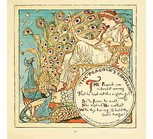 The Baby's Own Aesop by Walter Crane 1908-37 The Peacock's Complaint Photographic Print