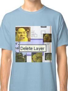 Delete Layer Classic T-Shirt