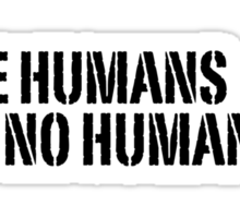I See Humans Sticker