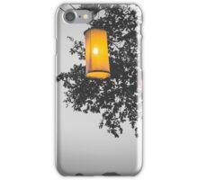 Lanterns BW iPhone Case/Skin