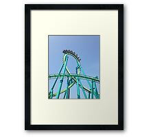 Raptor - Cedar Point Framed Print