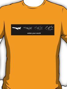 Widen Your World Black T Shirt T-Shirt