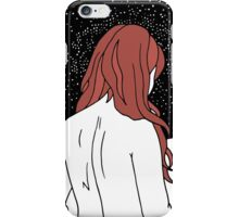 Sulking with Lisa Loeb on the Ice Planet Hoth (red) iPhone Case/Skin