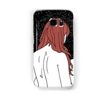 Sulking with Lisa Loeb on the Ice Planet Hoth (red) Samsung Galaxy Case/Skin