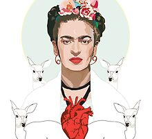 Frida (Light) by Anna McKay