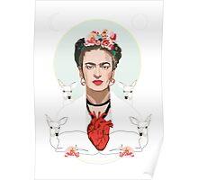 Frida (Light) Poster