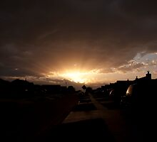 Neighborhood Sunrise by Jenny Ryan