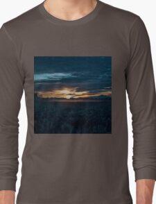Sunrise Art - Blue Hour Unhurried Long Sleeve T-Shirt