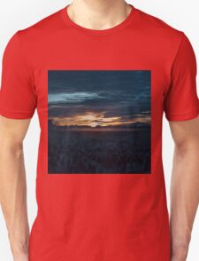 Sunrise Art - Blue Hour Unhurried T-Shirt