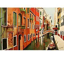 Venice In Colour Photographic Print